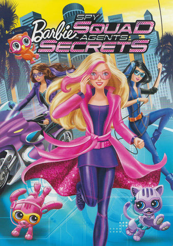 Barbie: Spy Squad (Bilingual) DVD Movie