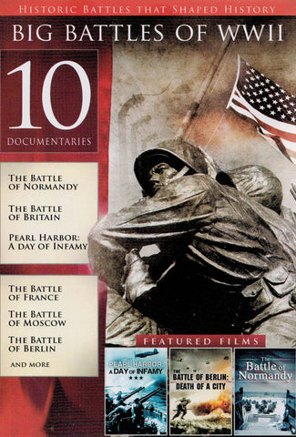 Big Battles of WWII (10 Films) DVD Movie