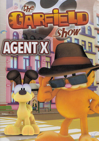 The Garfield Show - Agent X (Bilingual) DVD Movie
