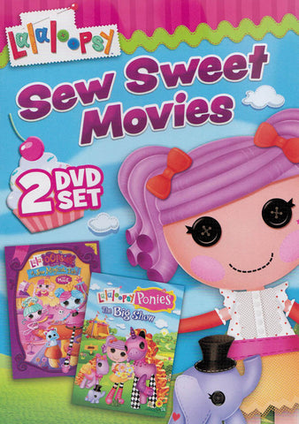 Lalaloopsy - Sew Sweet Movies (2 DVD Set) DVD Movie