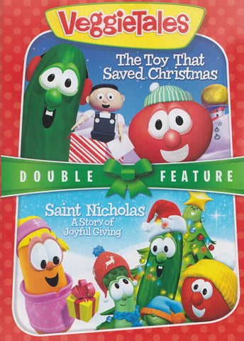 VeggieTales-The Toy That Saved Christmas/Saint Nicholas : A Strong Of Joyful Giving (Double Feature) DVD Movie