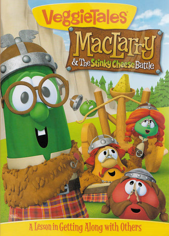 VeggieTales : Maclarry And The Stinky Cheese Battle DVD Movie