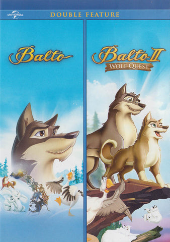 Balto 2: Wolf Quest / Balto 3: Wings of Change (Double Feature) DVD Movie