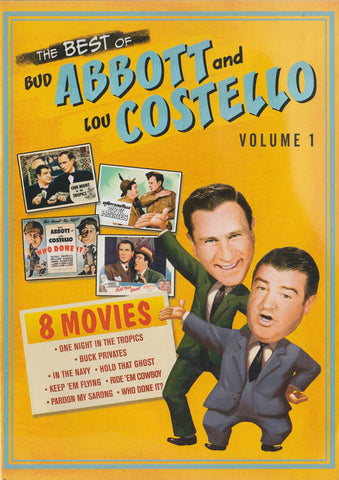 The Best of Bud Abbott And Lou Costello - Volume 1 DVD Movie