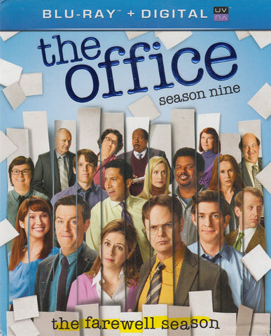 The Office - Season 9 (Blu-ray + Digital) (Blu-ray) (Boxset) BLU-RAY Movie