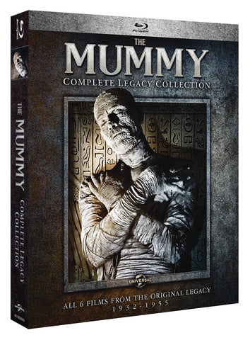The Mummy (Complete Legacy Collection 1932-1955) (Blu-ray) BLU-RAY Movie