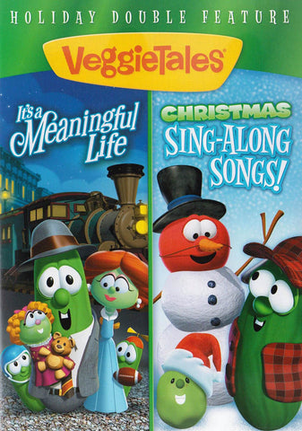 VeggieTales (It s a Meaningful Life / Christmas Sing-Along Songs) (Holiday Double Feature) DVD Movie