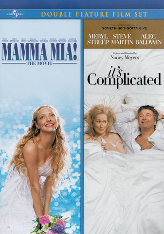 Mamma Mia! The Movie / It's Complicated (Double Feature) DVD Movie
