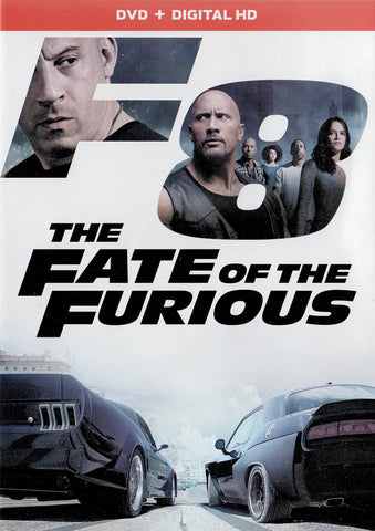 The Fate Of The Furious (DVD + Digital HD) DVD Movie