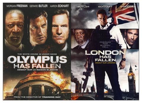 Olympus has Fallen / London has Fallen (2-Pack) (Bilingual) DVD Movie