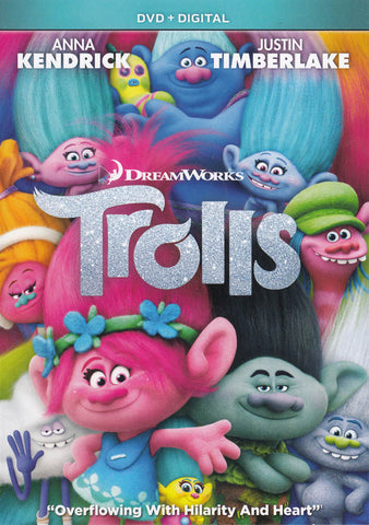 Trolls (DVD + Digital) DVD Movie