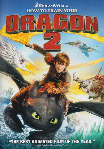 How to Train Your Dragon 2 DVD Movie