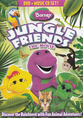 Barney : Jungle Friends - The Movie (DVD + Music CD Set)
