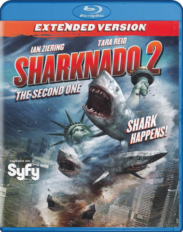 Sharknado 2 - The Second One (Blu-ray) (Extended Version) BLU-RAY Movie