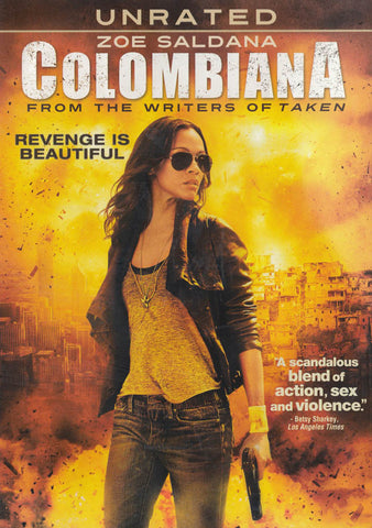 Colombiana (Unrated) DVD Movie