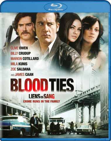 Blood Ties (Blu-ray) (Bilingual) BLU-RAY Movie