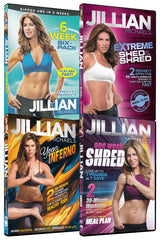 Jillian Michaels Fitness 4-Pack Collection (Volume 1) (4-Pack) (Boxset)