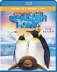 Adventures Of The Penguin King (Blu-ray 3D + Blu-ray + DVD) (Blu-ray)