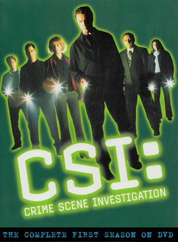 CSI Crime Scene Investigation (The Complete First Season) (Boxset) DVD Movie