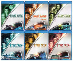 Star Trek Collection 1-6 (6-Pack) (Blu-ray)