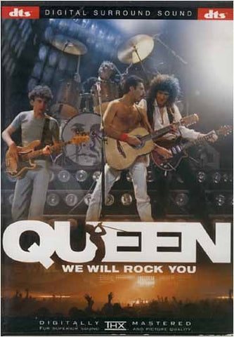 Queen -We Will Rock You DVD Movie