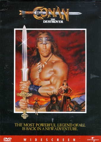Conan The Destroyer DVD Movie