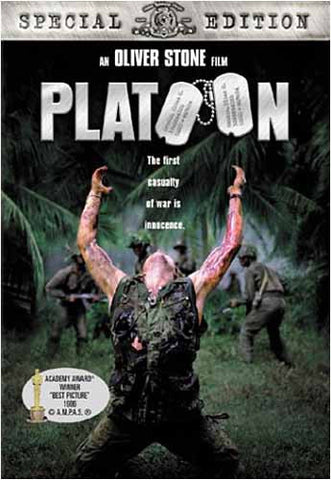 Platoon (Special Edition)(Bilingual) DVD Movie