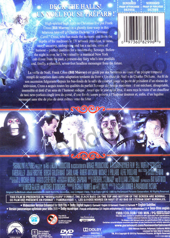 Scrooged (Widescreen) DVD Movie