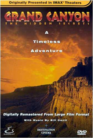 Grand Canyon - The Hidden Secrets (Large Format) DVD Movie