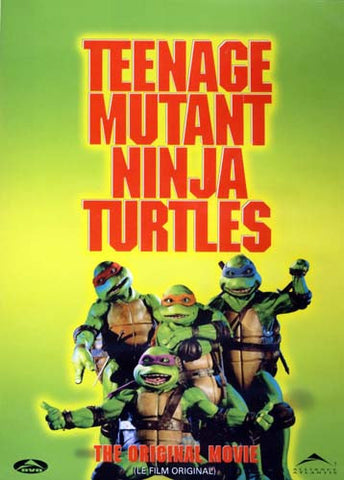 Teenage Mutant Ninja Turtles - The Original Movie (Bilingual) DVD Movie