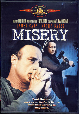 Misery (Black Cover) DVD Movie