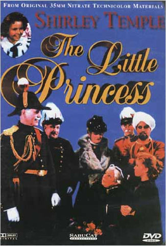 The Little Princess - Shirley Temple (Blue Cover) DVD Movie