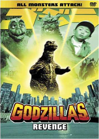 Godzilla's Revenge DVD Movie