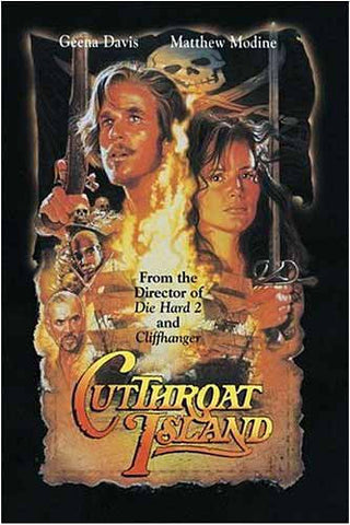 Cutthroat Island DVD Movie