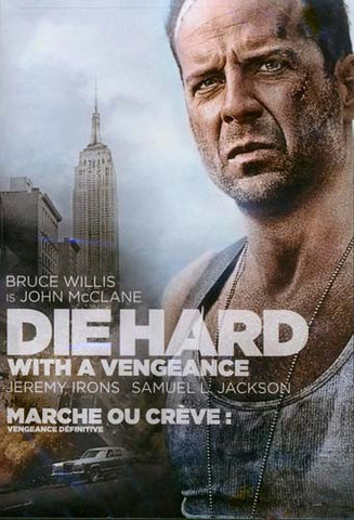 Die Hard With A Vengeance (Marche Ou Creve - Vengeance Definitive) DVD Movie