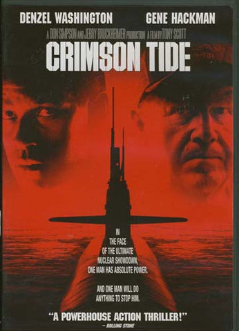 Crimson Tide (Widescreen) DVD Movie