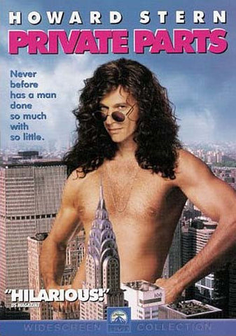Private Parts - Howard Stern DVD Movie