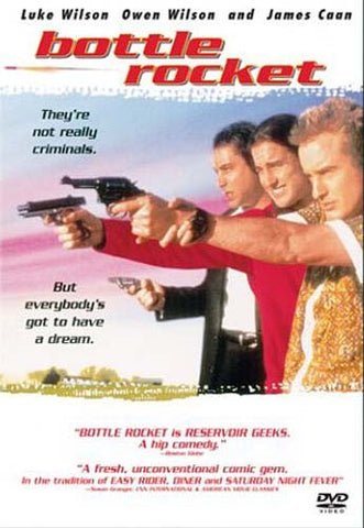 Bottle Rocket DVD Movie