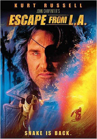 Escape From L.A.(Kurt Russel) DVD Movie