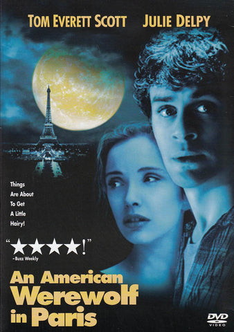 An American Werewolf In Paris DVD Movie
