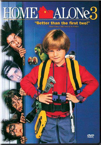 Home Alone 3 (Toolbelt cover) DVD Movie