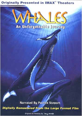 Whales - An Unforgettable Journey (Large Format - IMAX) DVD Movie