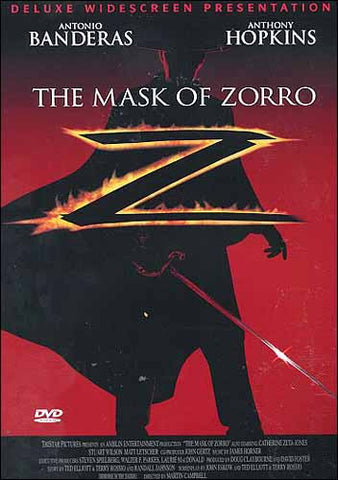 The Mask Of Zorro (deluxe) DVD Movie