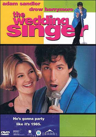 The Wedding Singer (Bilingual) DVD Movie