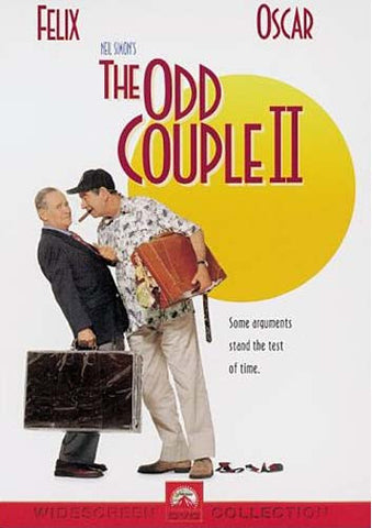 The Odd Couple II 2 DVD Movie