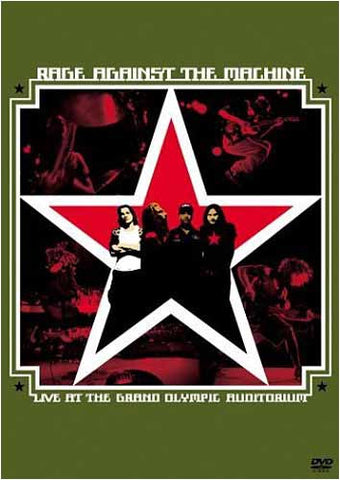 Rage Against The Machine - Live at The Grand Olympic Auditorium DVD Movie