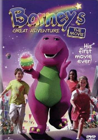 Barney's Great Adventure - The Movie DVD Movie