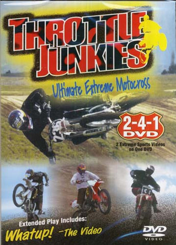 Throttle Junkies - Ultimate Extreme Motocross DVD Movie