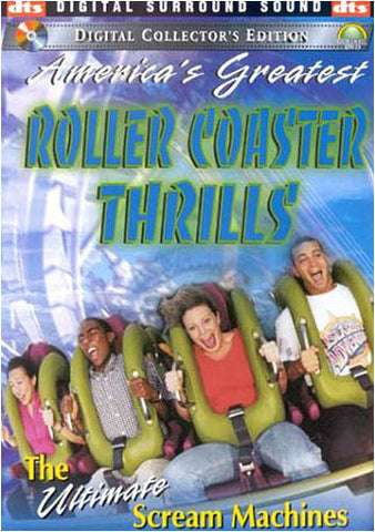 America's Greatest Roller Coaster Thrills - The Ultimate Scream Machines DVD Movie