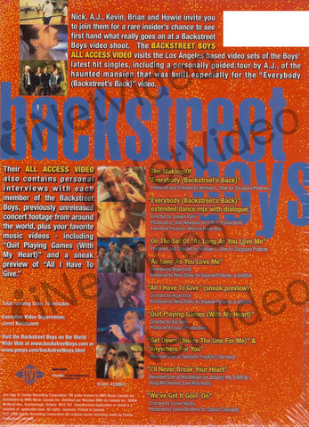 Backstreet Boys - All Access Video (Boxset) DVD Movie